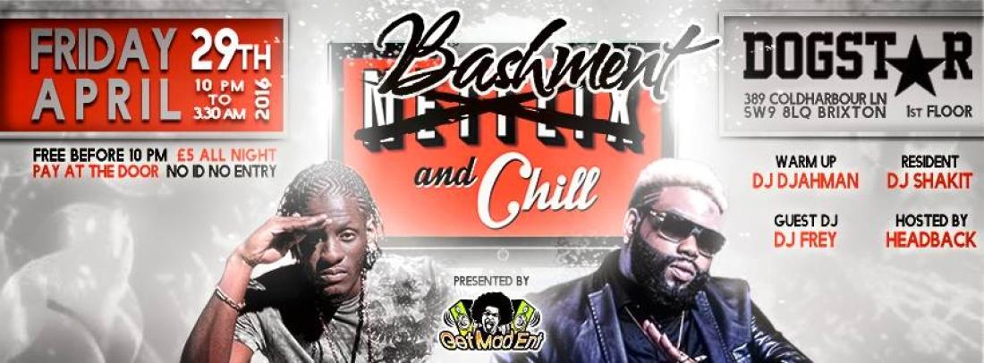 Bashment & Chill [Monthly Dancehall Night in London] — kiwol com