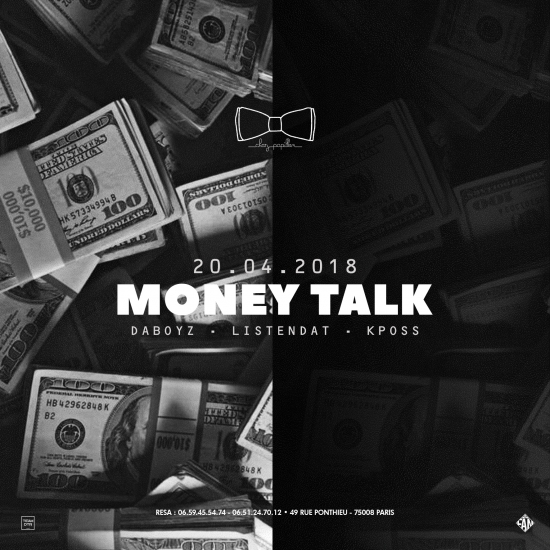 MONEY TALK - CHEZ PAPILLON - DABOYZ x LISTENDAT x KPOSS