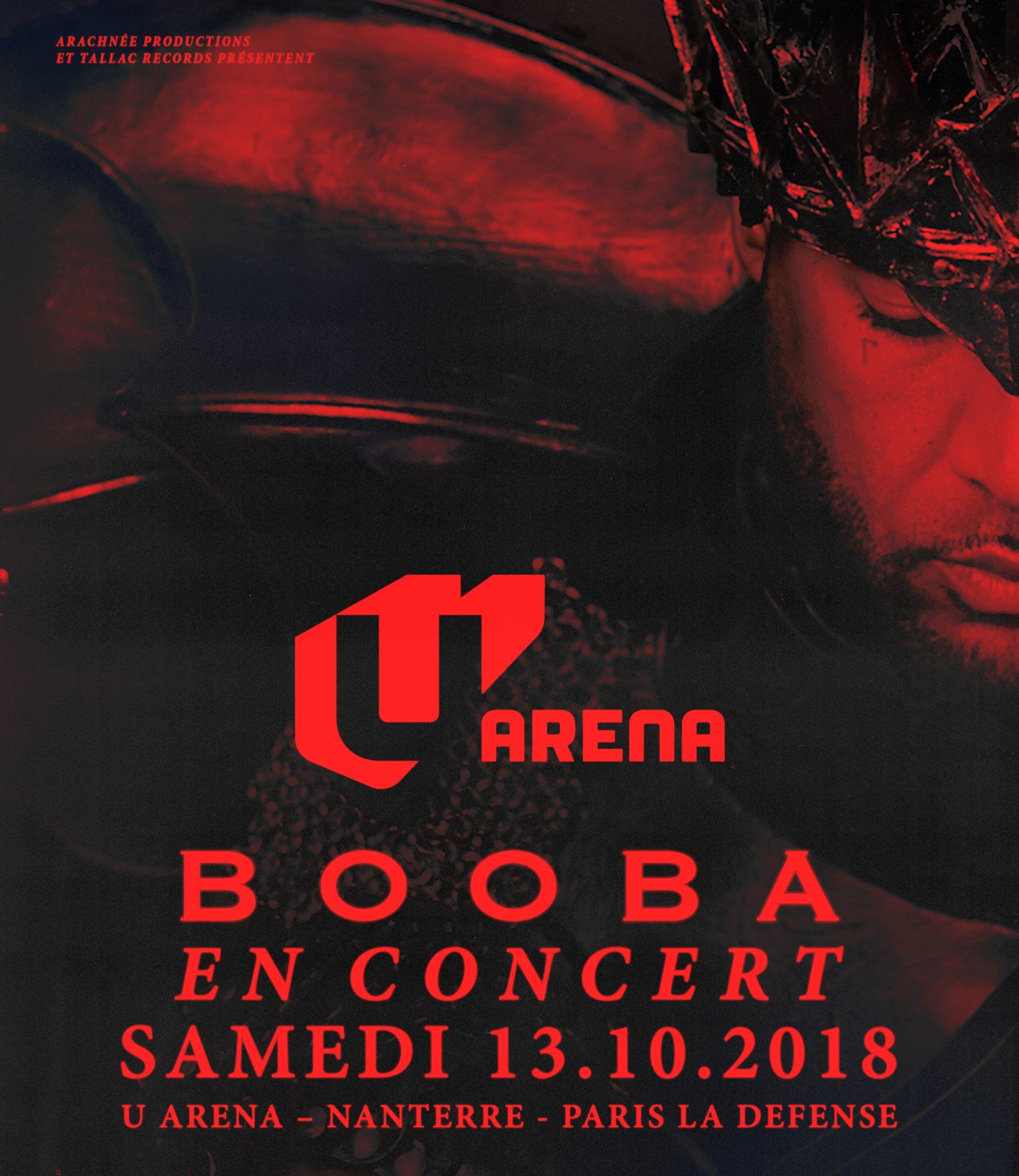Booba - U Arena / Nanterre (92)
