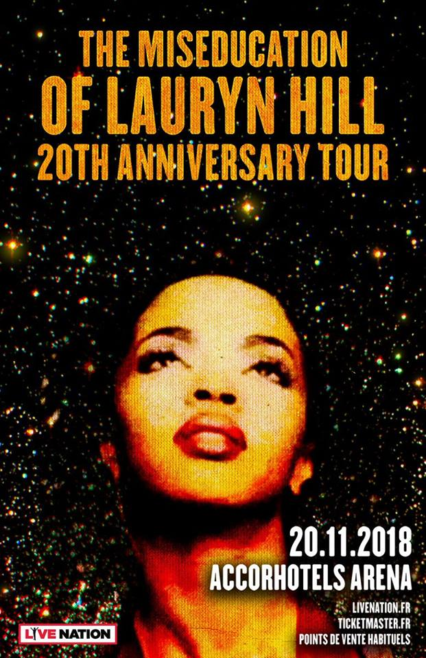 Lauryn Hill - AccorHotels Arena / Paris (75)