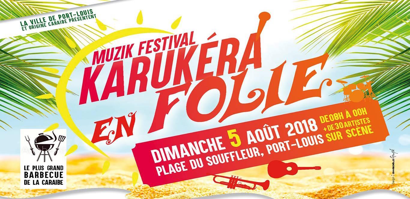 Karukéra en Folie Festival 2018 - Guadeloupe