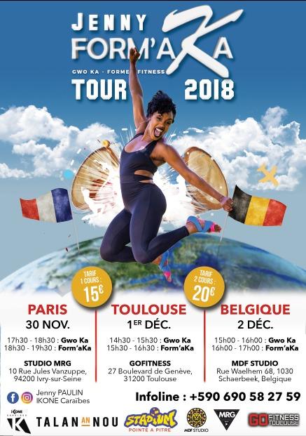 Jenny Form'Aka Tour 2018 [PARIS]