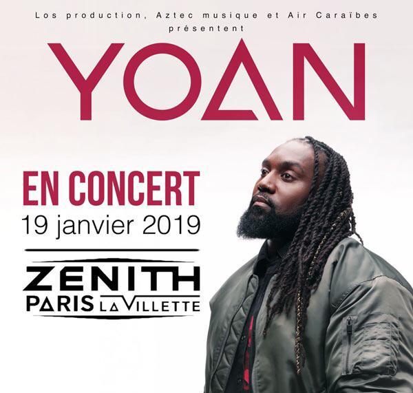 [Offre Promo] Yoan en concert au Zénith de Paris