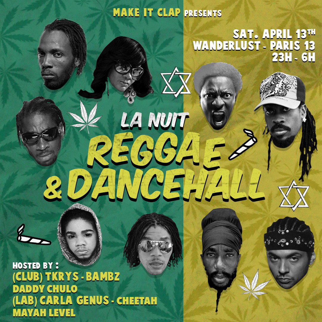 La nuit reggae & dancehall
