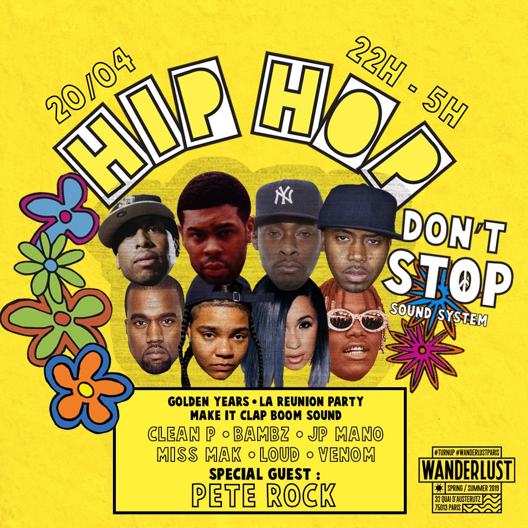 Hip Hop Don't Stop feat Pete Rock