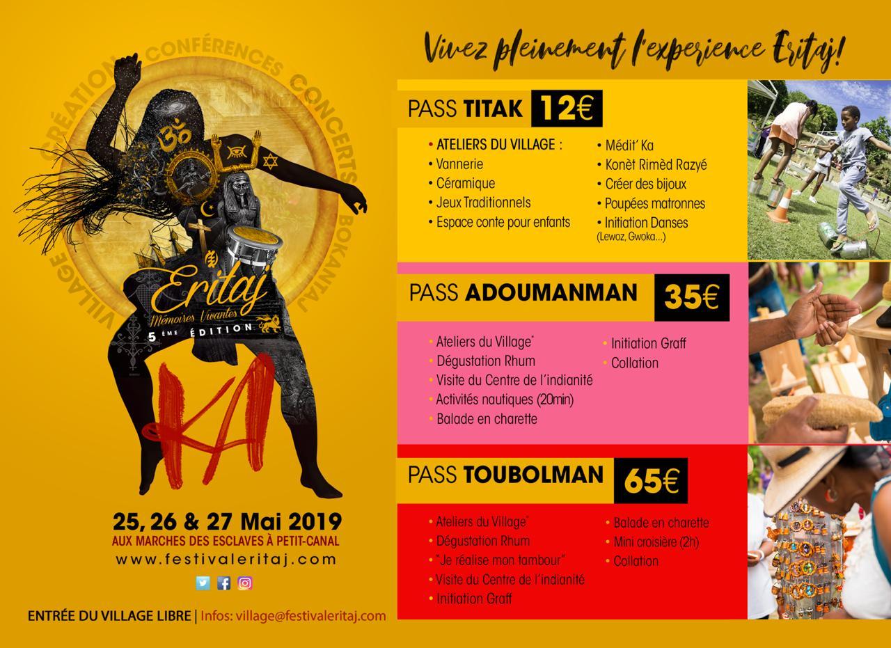 Vivez le Festival ERITAJ du 25 au 27 Mai 2019 !