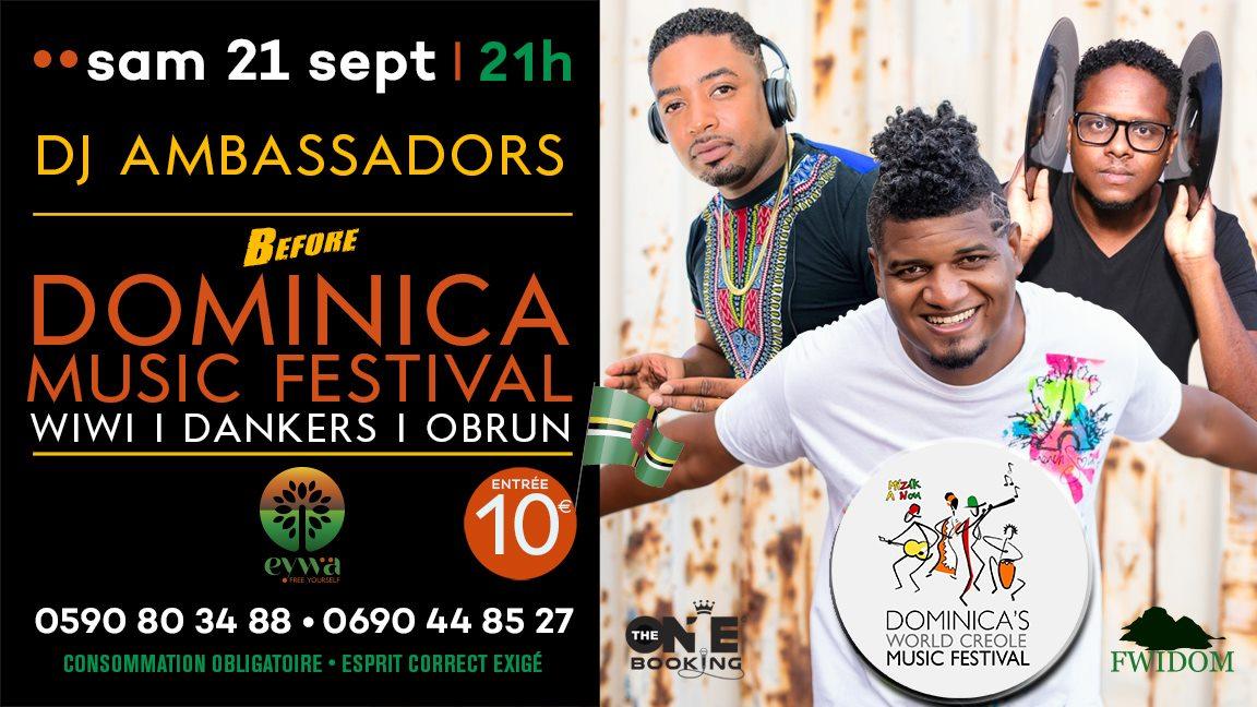 B4 DOMINICA MUSIC FESTIVAL
