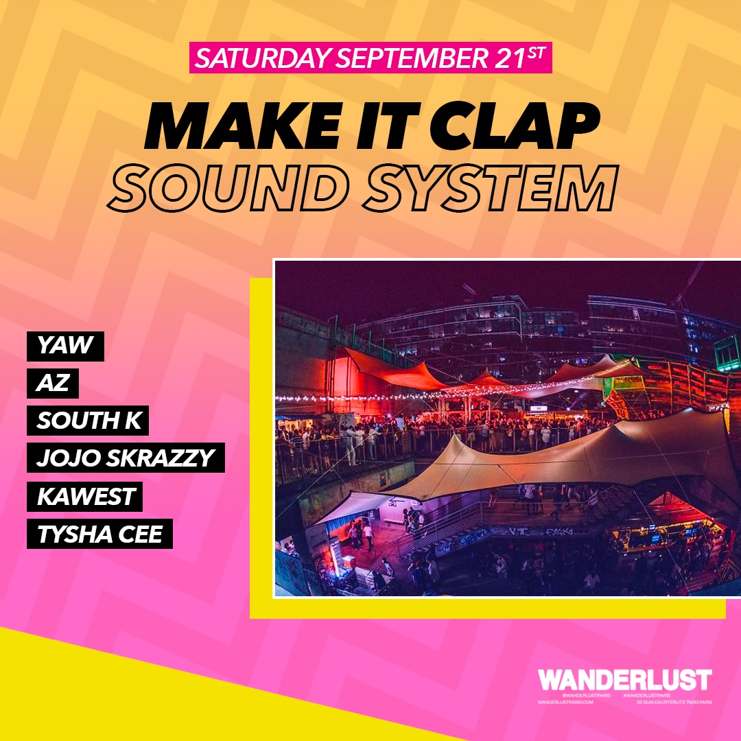 Make It Clap Sound System - Closing