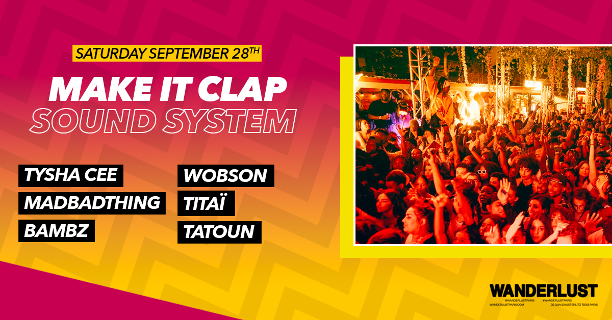 Make It Clap Sound System - PFW