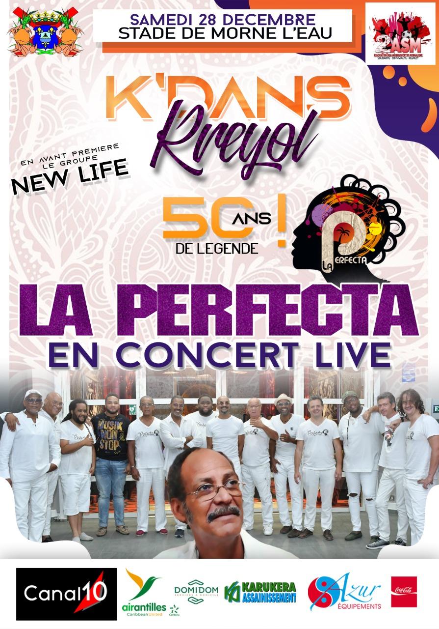 concert live la perfecta 50 ans de legende