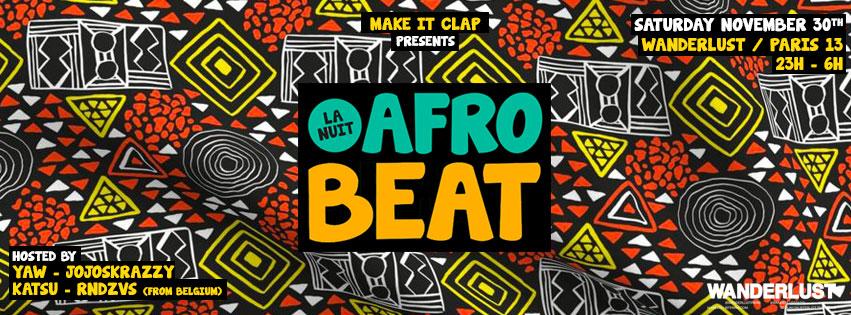 La nuit Afrobeat au Wanderlust