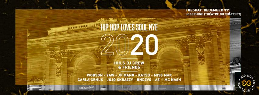 Hip Hop Loves Soul NYE 2020