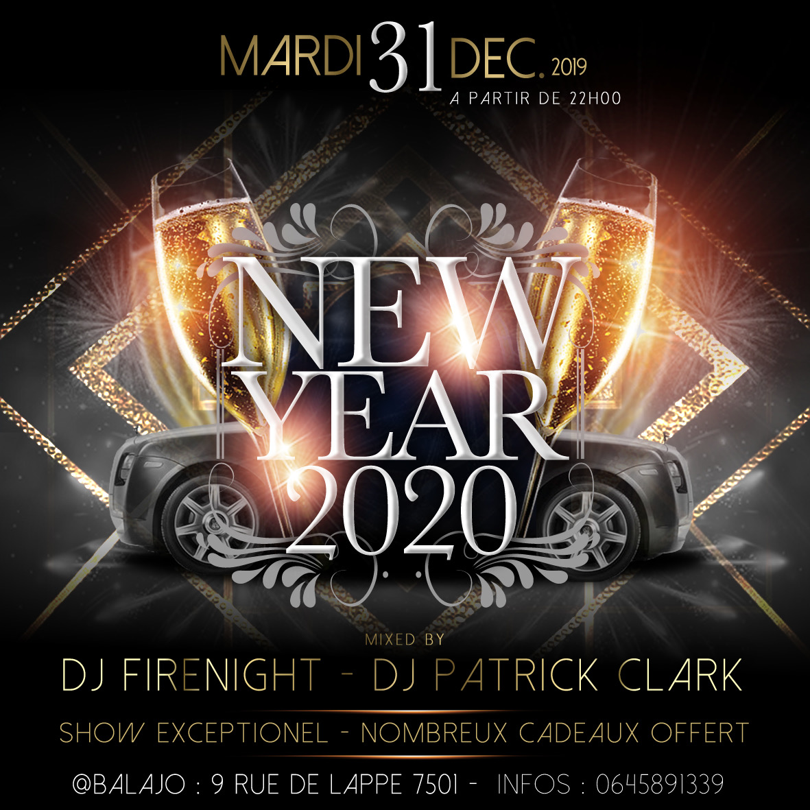 🌟🍾🍷🚀 NEW YEAR EVE CELEBRATION 🍾
