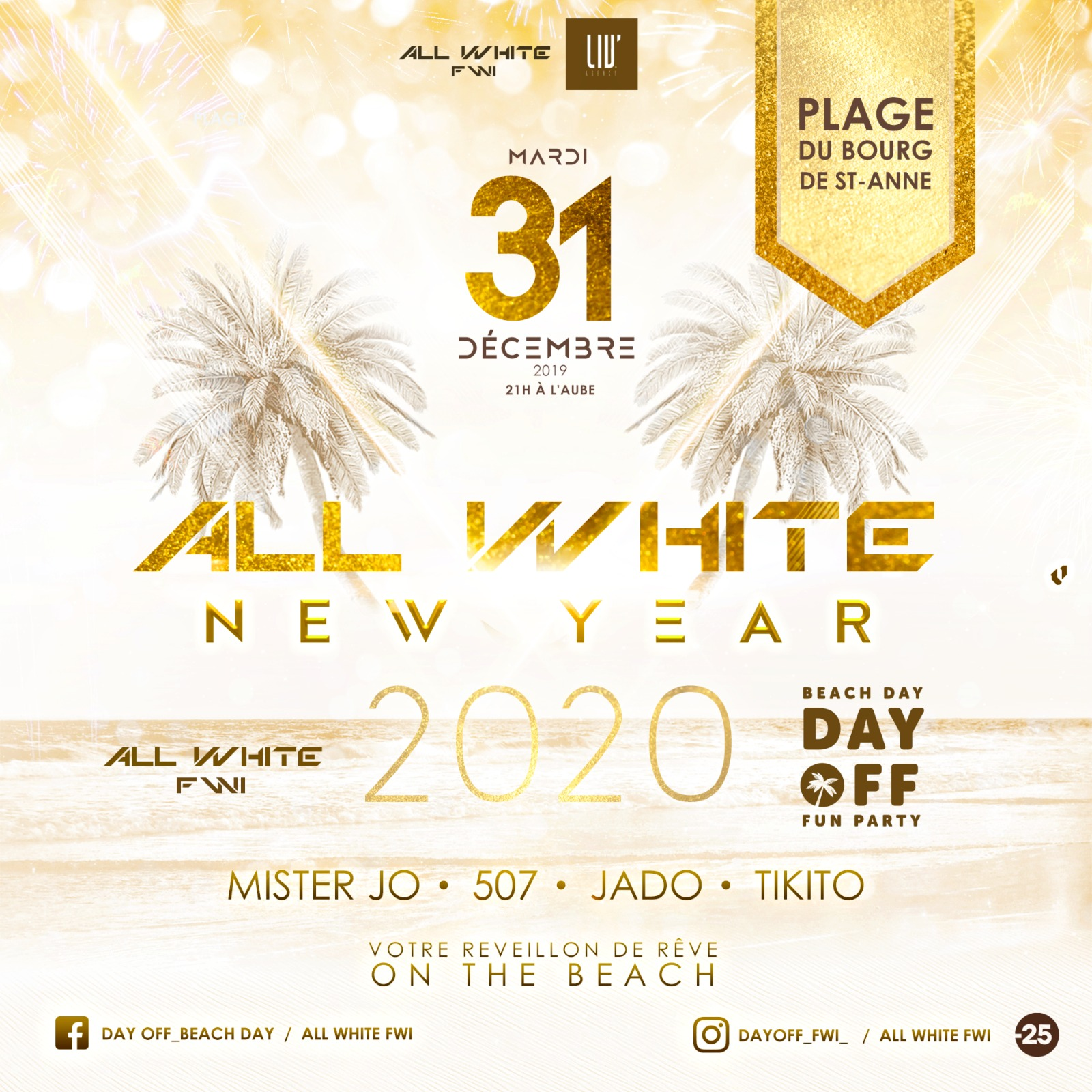 All White New Year 2020