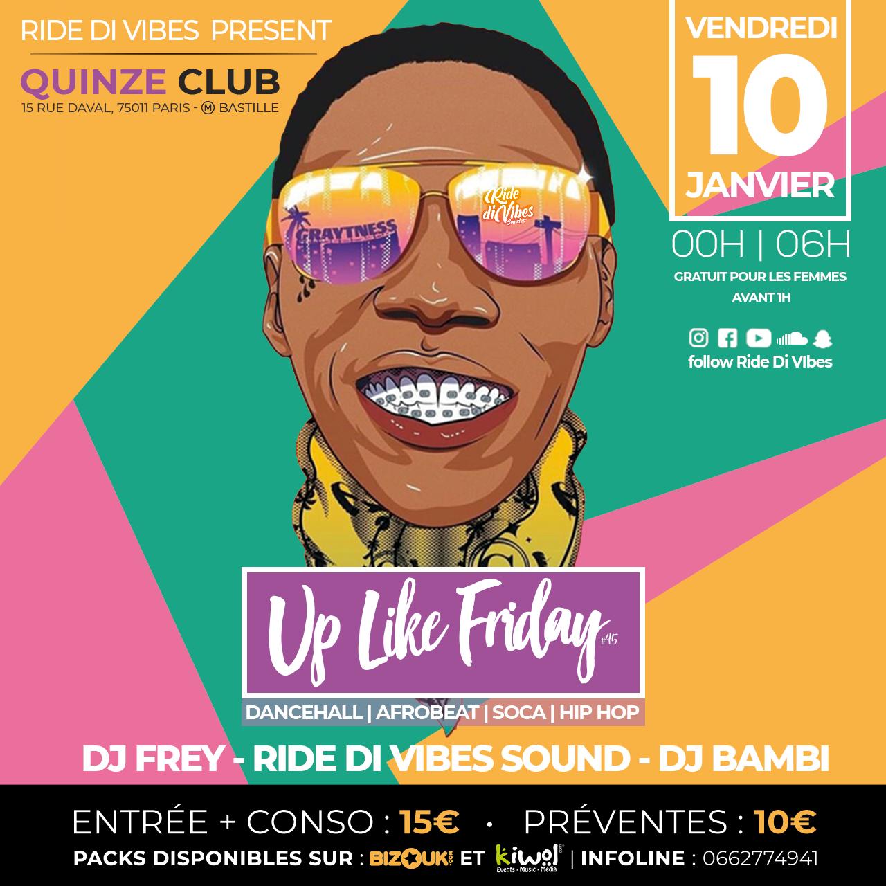 Up Like Friday #45