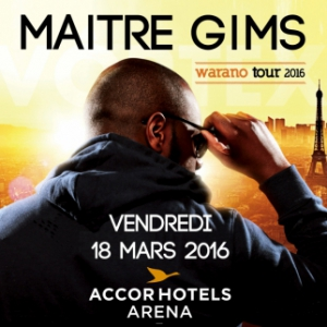Maitre Gims  Concert - AccorHotels Arena