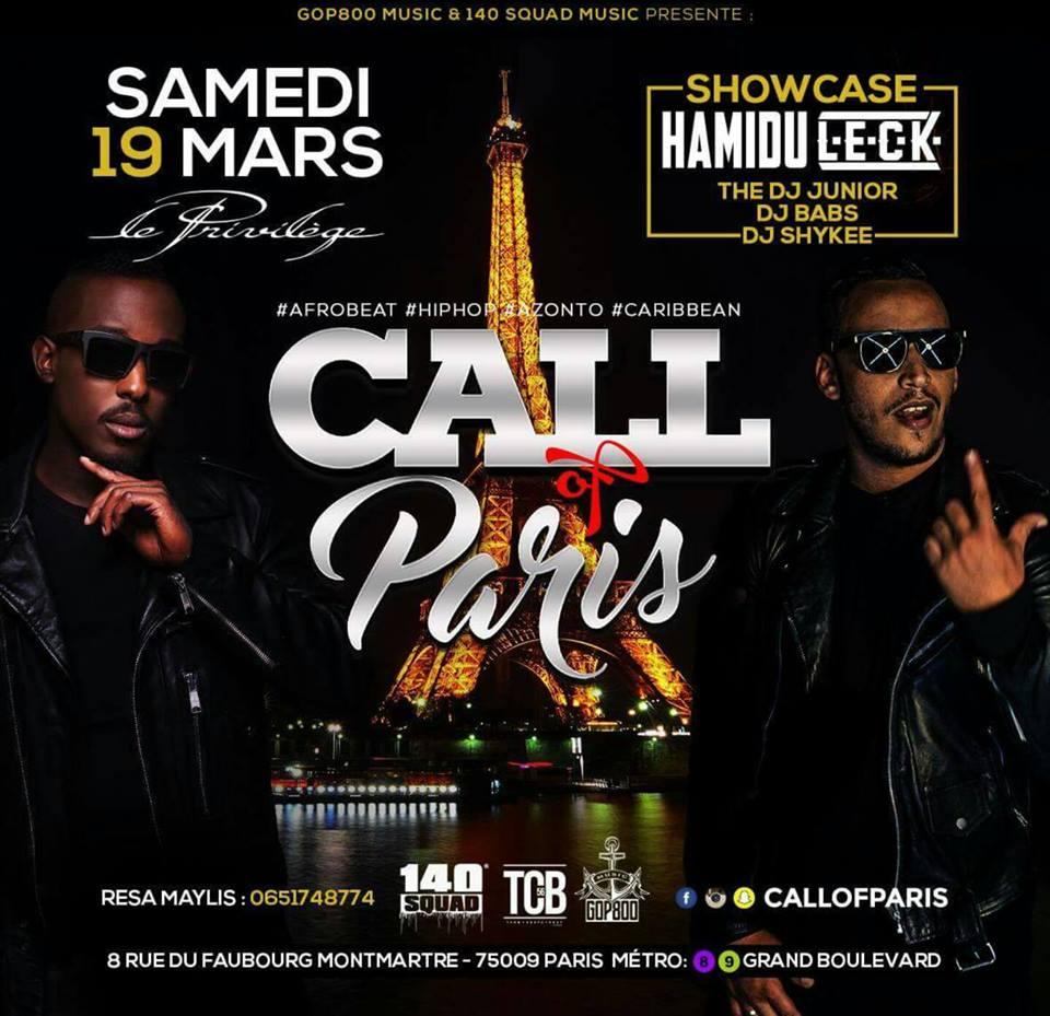 Call Of Paris