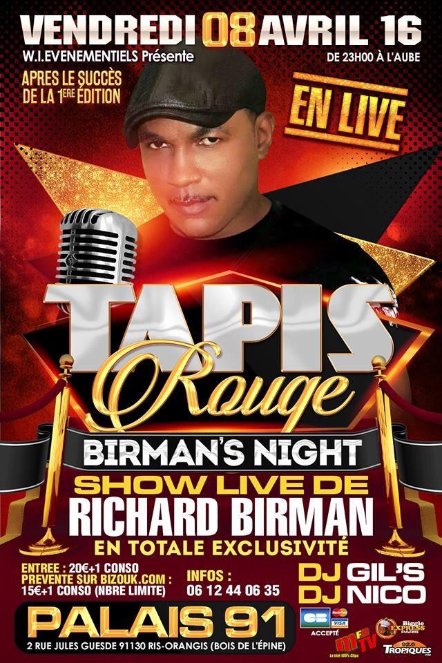 Tapis Rouge Show LIVE Richard Birman