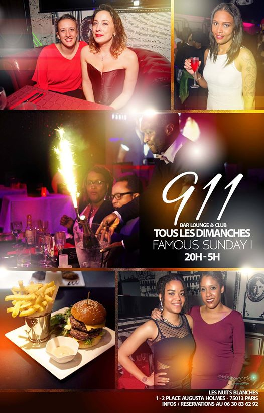 911 Paris Famous Sunday