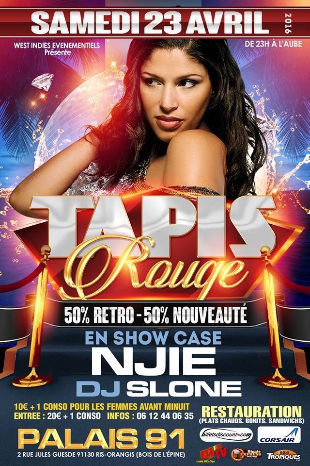 Tapis Rouge Showcase Njie