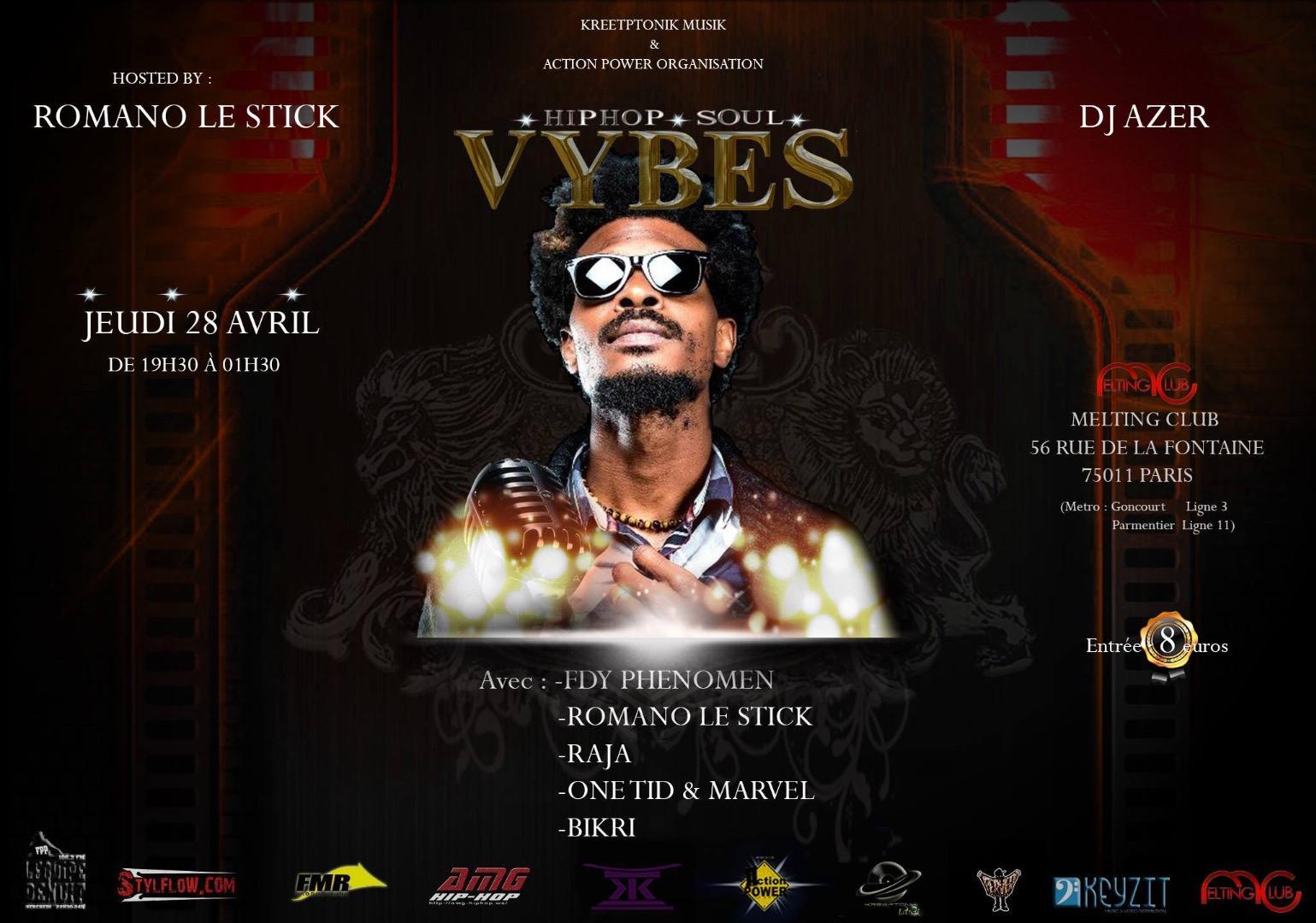 Hip Hop Soul Vybes By Romano le stick  FDY PHENOMEN en Guest