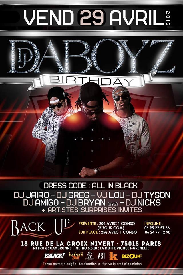 Daboyz Birthday
