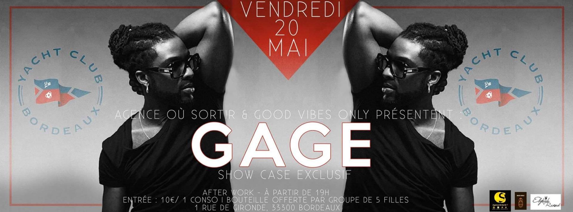Gage En Show Case Bordeaux Yacht Club (H36)