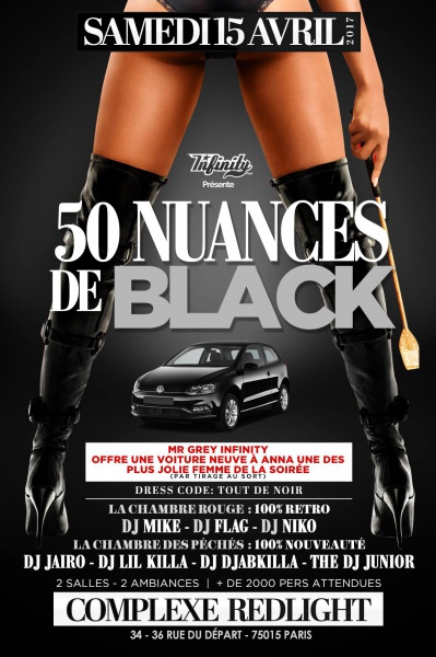 soiree 50 nuances de black voiture neuve a gagner. Black Bedroom Furniture Sets. Home Design Ideas